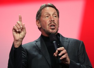 Larry Ellison was adopted