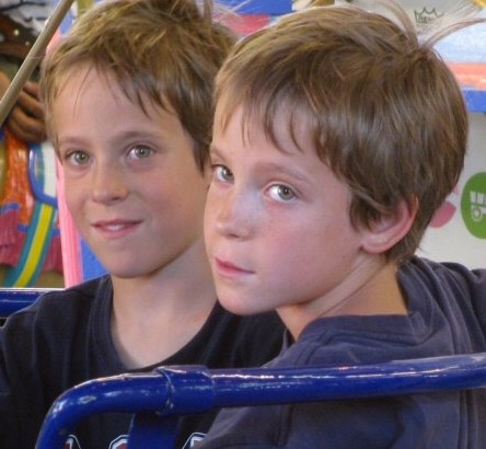 Where these twins are raised will affect what type of people they will become.